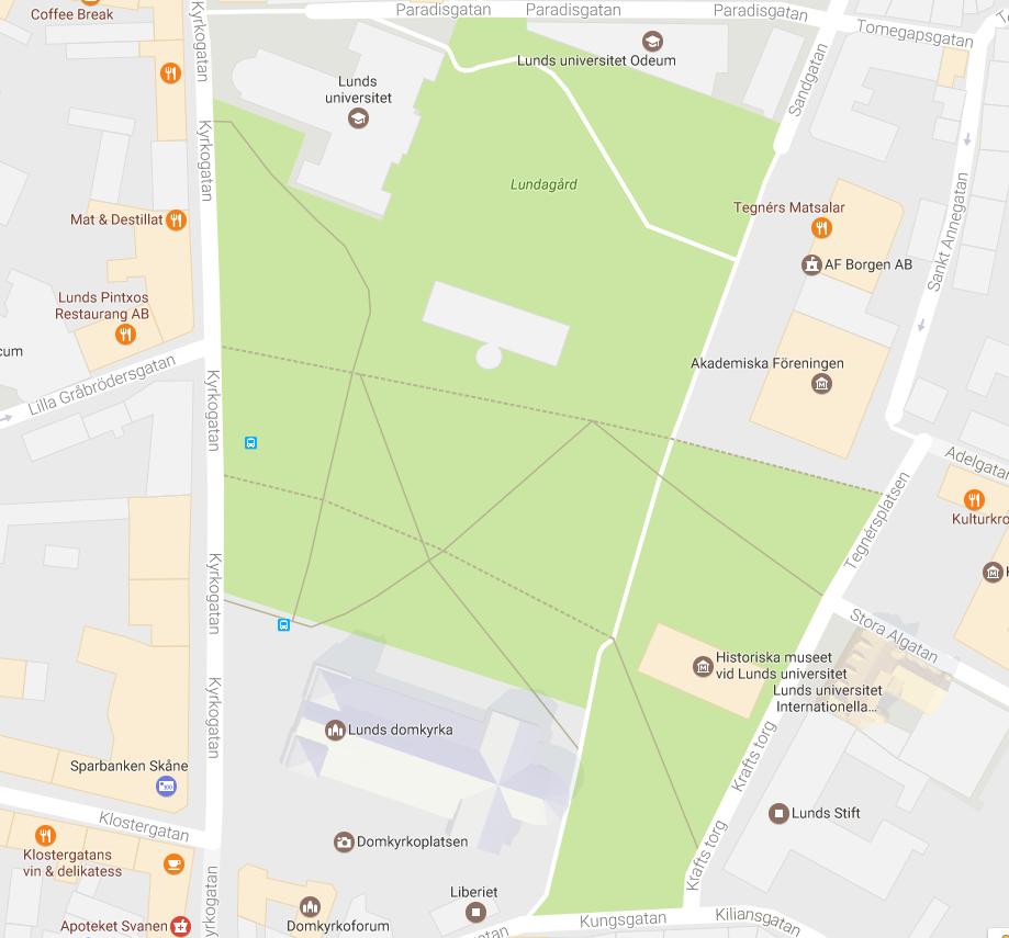Lundagård google karta